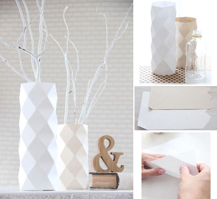DIY Vase: bottle cover