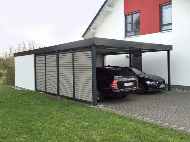 Doppelcarports Carceffo Moderne Carports Garagen Carport Modern Doppelcarport Carport