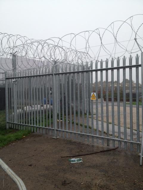 Best security fence images on pinterest fences