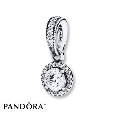 PANDORA Necklace Charm Classic Elegance Sterling Silver