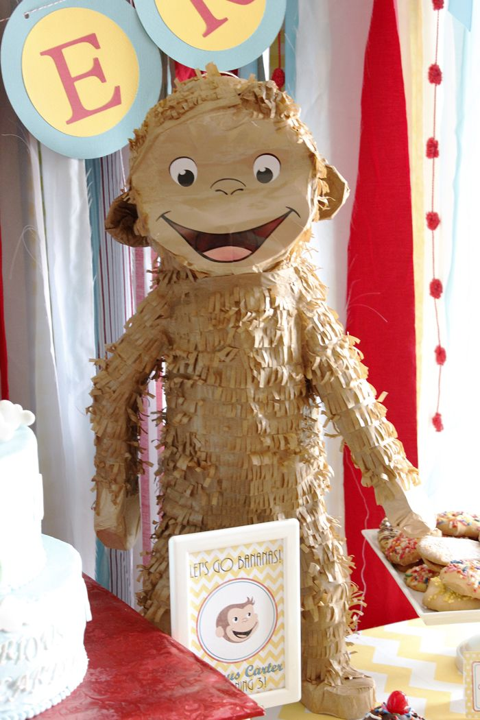 201 best images about curious george party ideas on for Curious george bedroom ideas