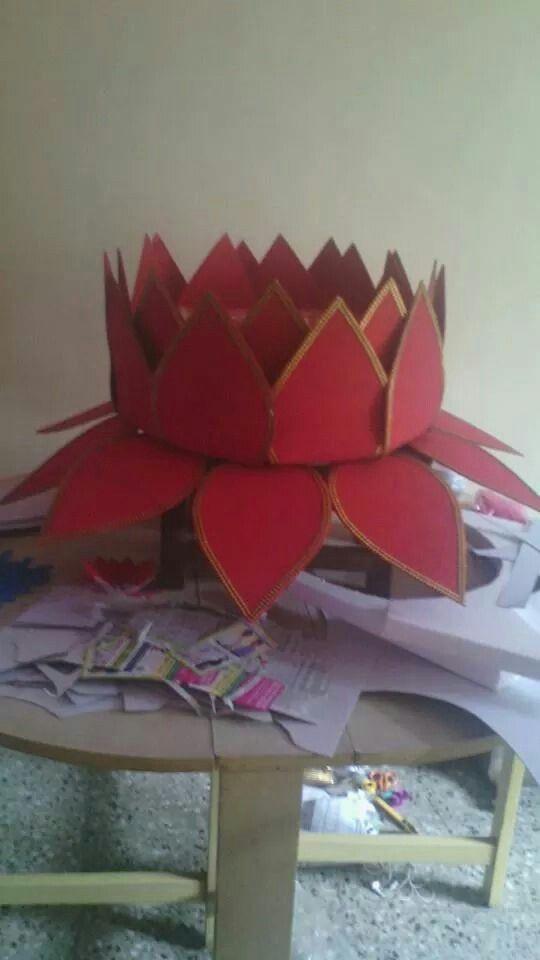 Lotus Ganesh decoration