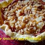 Torta salata con speck taleggio e pere