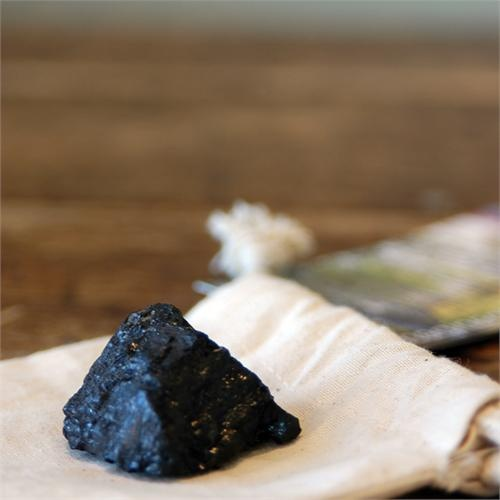Bituminous Coal | Rock Collection Coal | Sedimentary Rock Sample | Eco Friendly Toys
