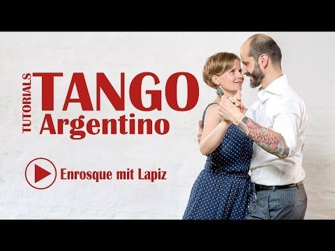 How to Do Enrosques | Argentine Tango - YouTube