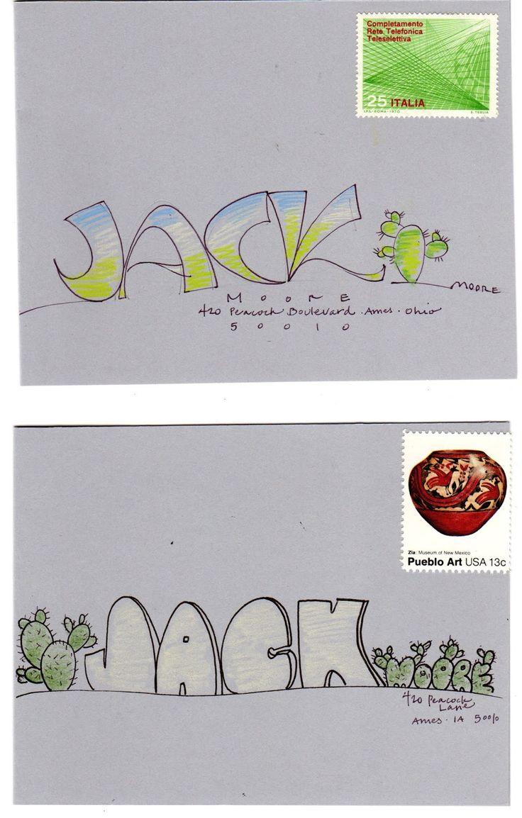 pushing the envelopes: parabolic jack and cathy