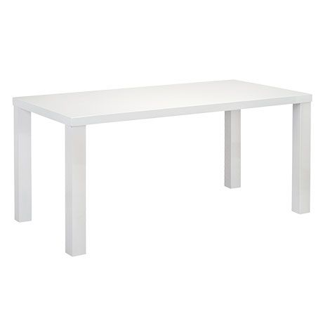 Sleek Dining Table 160x90cm | Freedom Furniture and Homewares