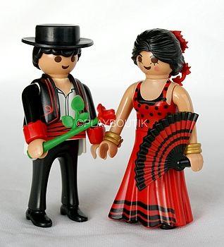 PLAYMOBIL 6845 COUPLE ESPAGNOL http://www.playboutik.com/achat-playmobil-6845-couple-espagnol-406853.html #playboutik