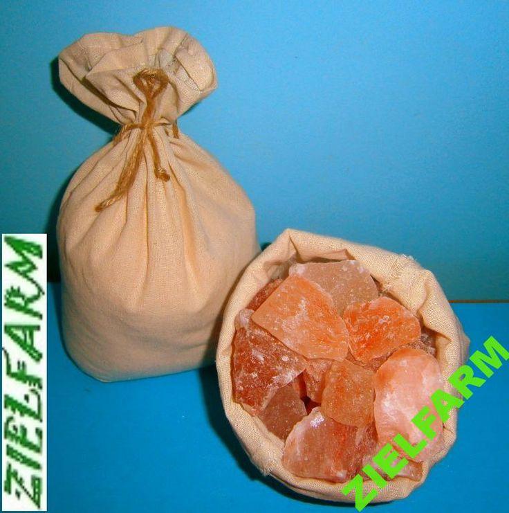 Sól himalajska różowa - kruszki (3-6 cm) 1kg