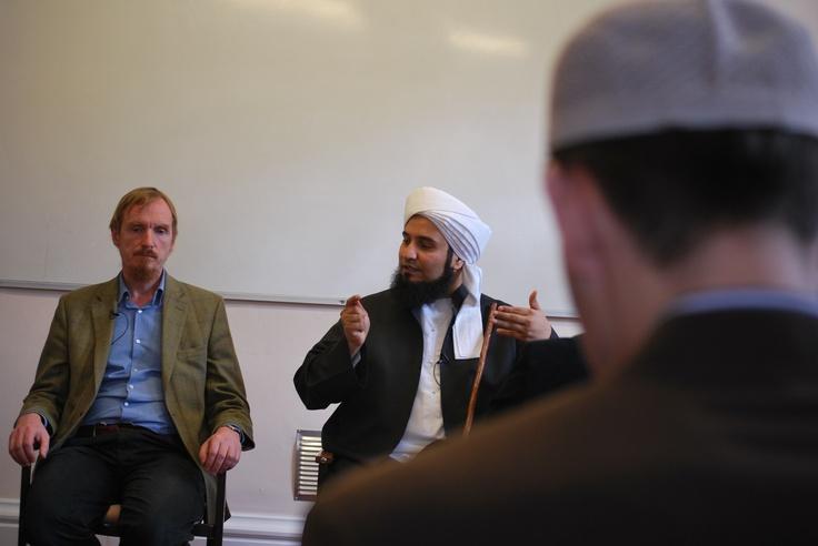Shaykh Abdal Hakim Murad with Habib Ali at Harrow