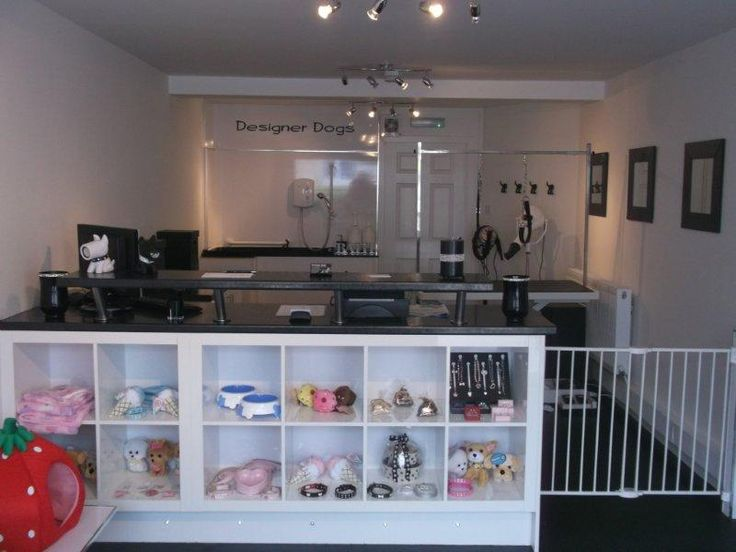 -Repinned- Grooming shop. This is what I want!!