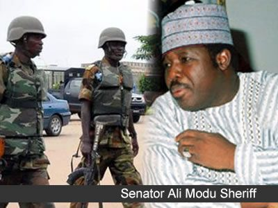 Quit office or risk jail term -- Sheriff warns Makarfi   The National Chairman of the Peoples Democratic Party PDP Senator Ali Modu Sheriff has warned the National Caretaker Committee Chairman Senator Ahmed Makarfi to quit office or risk jail term.National legal adviser and member of the partys National Working Committee (NWC) Barrister Bashir Maidugu had spoken on Sheriffs behalf disclosing that contempt charge would be filed against Makarfi if he continued to parade himself or sign any…