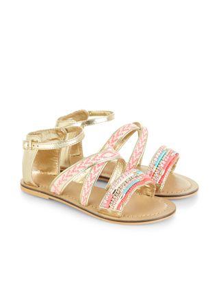 Aztec Bar Sandals