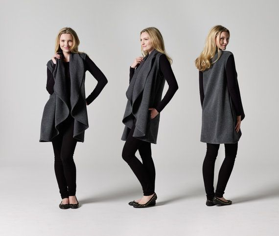 Draped Coat from Teach Me Fashion