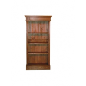 Portchester Pine Waxed Small Bookcase  www.easyfurn.co.uk