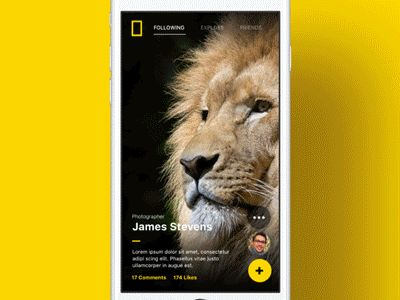 National Geographic - Mobile App  by Karim Balaa