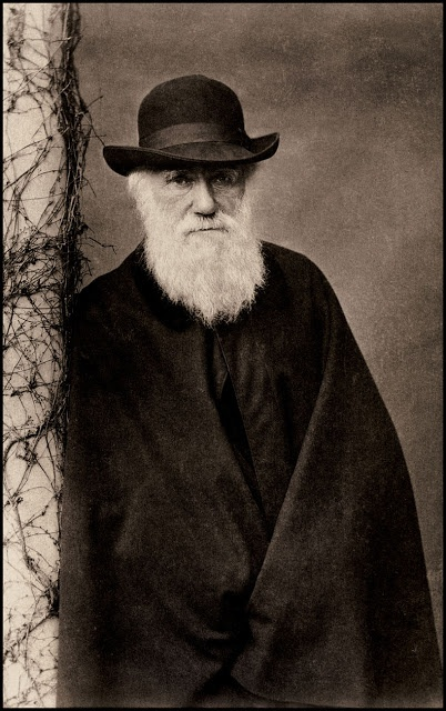 Author/naturalist, Charles Darwin, best known for his theory of evolution, was born on Feb. 12, 1809.
