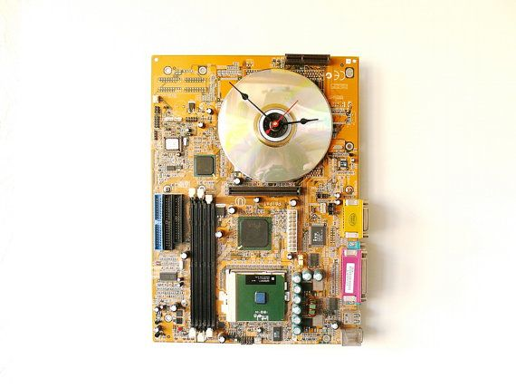 motherboard wall clock