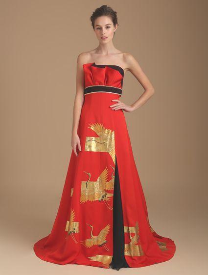 伝統文化と現代モードの、見事なまでのコラボレーションです。本物のアンティーク振袖をドレスに仕立てたブランド「祥縁(SHOEN)」が、2017年6月1日から全国のワタベウェディング店舗にてレンタルを開始しました。「祥縁」のドレスは、アンティー…