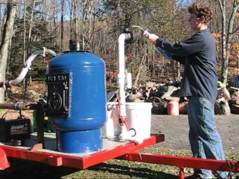 Syngas Electric Generator Start-Up, via YouTube.