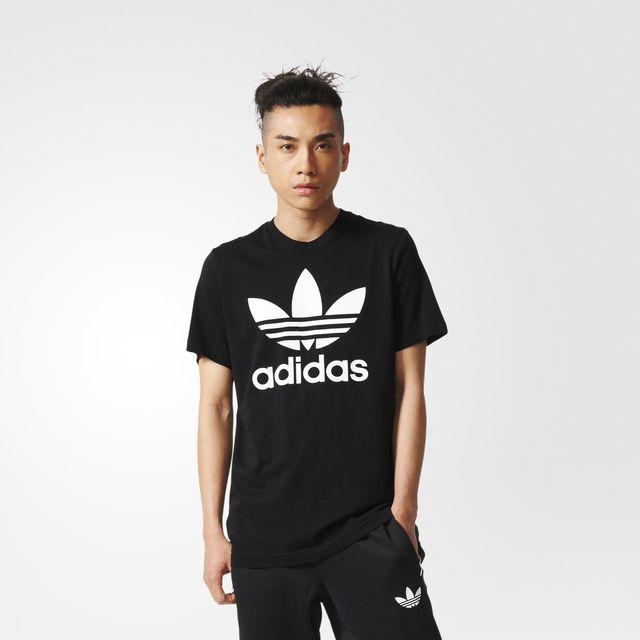 adidas Trefoil T-shirt - grijs