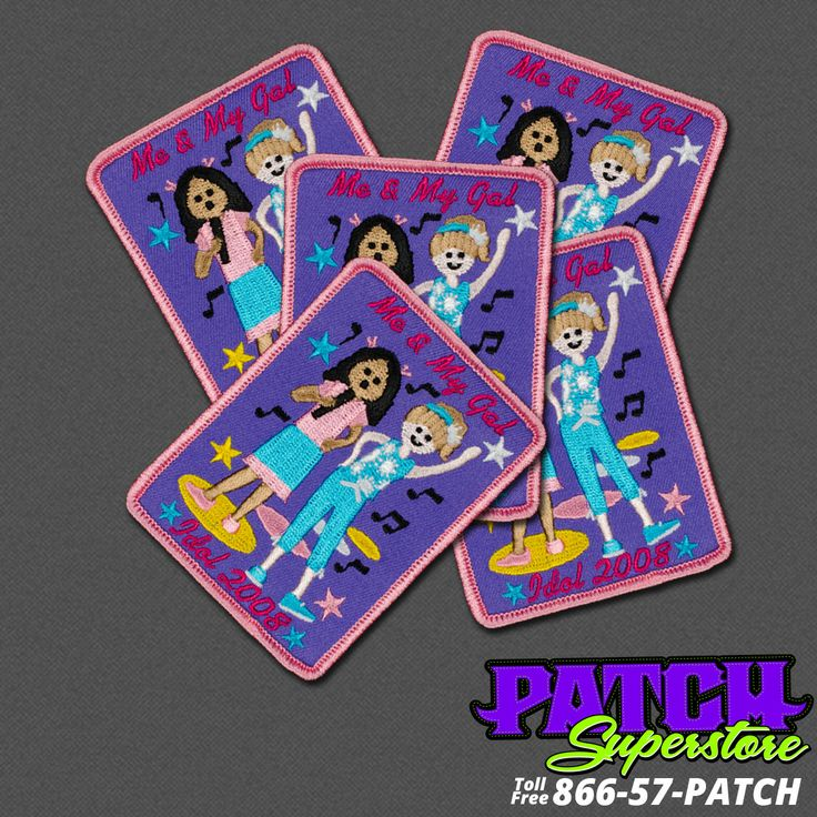 Girl Scout Fun Patches - Home