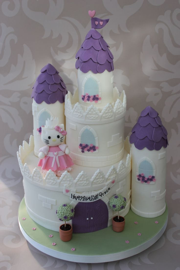 Castle Cake. | Flickr - Photo Sharing!