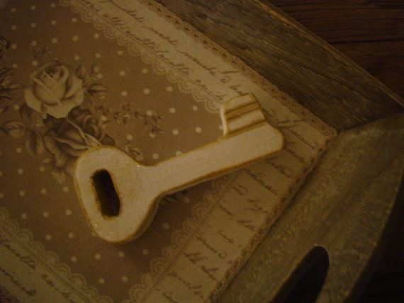 handmade wood key by demetradaskoupo on Etsy