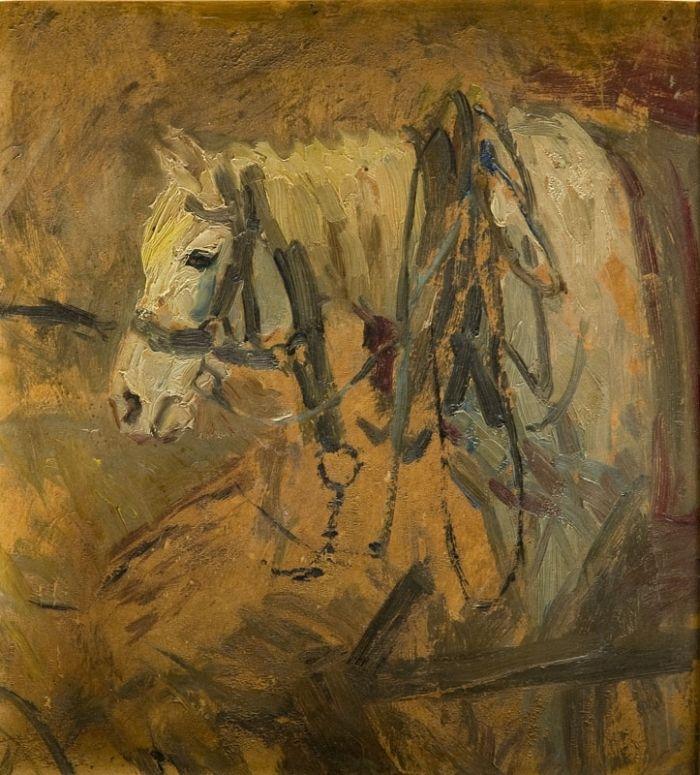 Fryderyk Pautsch - Głowa końska, 1949 r.