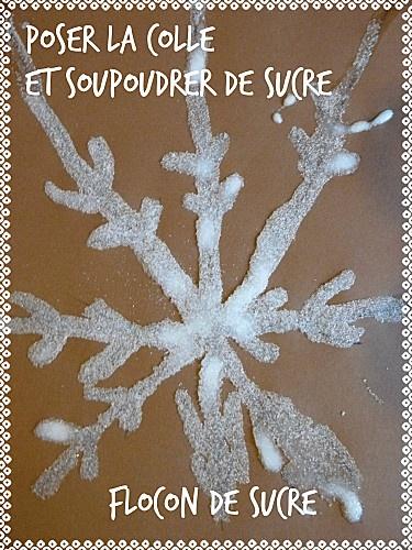 sugar snowflake