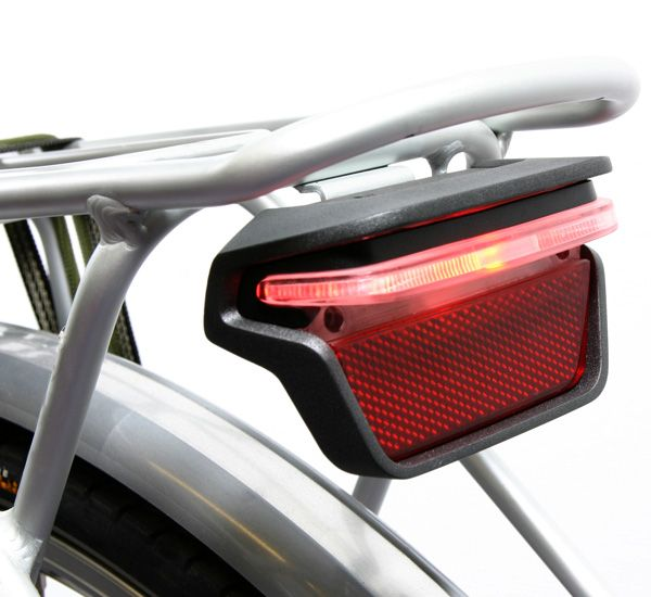 Distinctive bike light