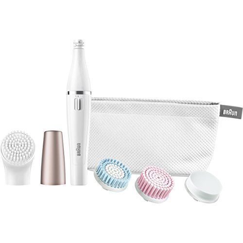 Braun Face 851 - Mini-Facial Electric Hair Removal Epilator for Women with 4 Facial Cleansing Brushes and Beauty Pouch. For product & price info go to:  https://beautyworld.today/products/braun-face-851-mini-facial-electric-hair-removal-epilator-for-women-with-4-facial-cleansing-brushes-and-beauty-pouch/
