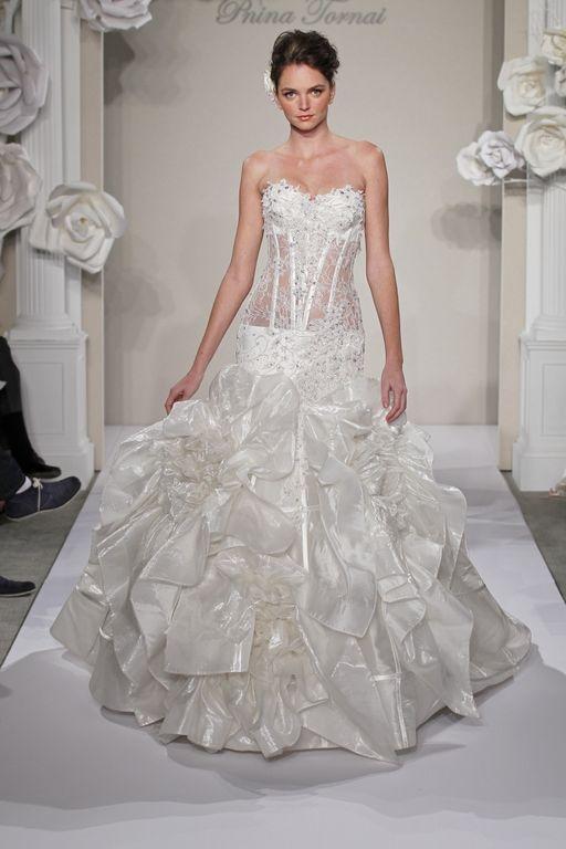 The 36 best Pnina Tornai images on Pinterest   Wedding frocks, Short ...