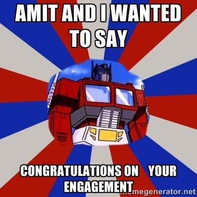 Excellent Images For - Congratulations Engagement Meme