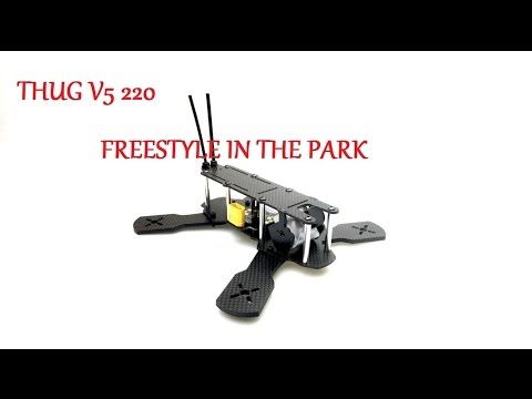 THUG V5 220 - FPV - FREESTYLE - T MOTOR 2206 200KV - LITTLE BEE - 4S