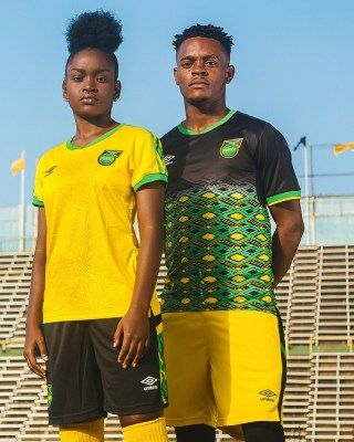 442dd8349e3 Jamaica 2018 2019 Umbro Home and Away Football Kit