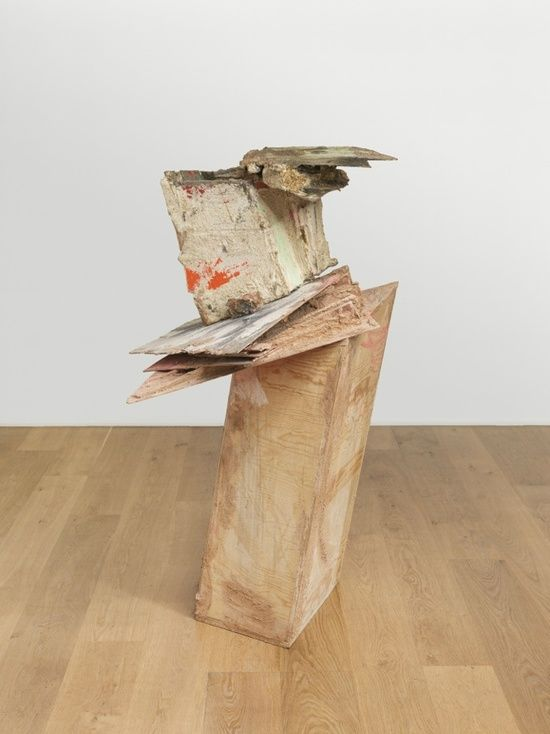 untitled: slidingupturnedhouse; 2015 Phyllida Barlow