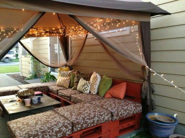 die besten 25 lounge aus paletten ideen auf pinterest lounge m bel f r drau en gartenbank. Black Bedroom Furniture Sets. Home Design Ideas