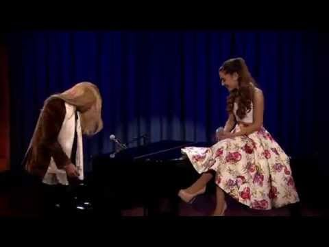 Ariana on Jimmy Fallon....this is awesome!! @Ariana Bourke Grande You did an awesome job!!!!