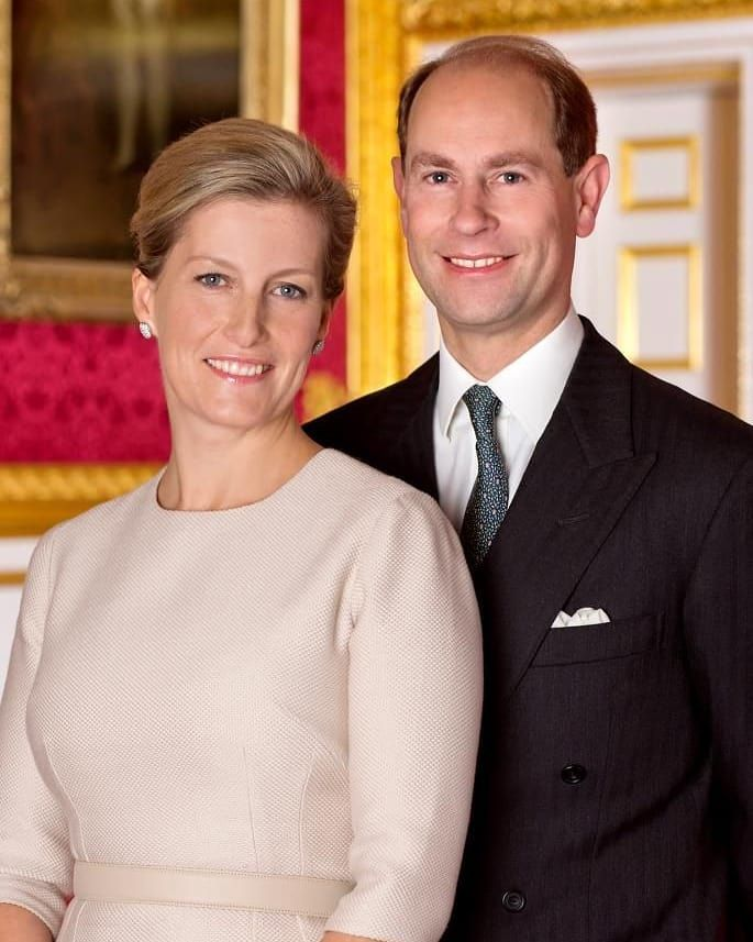 """The Royal Family on Instagram: """"The Earl & Countess of Wessex ..."""