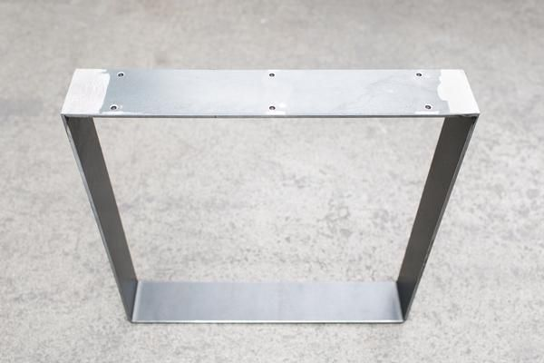 The Flat SteelLeg compliments industrial and modern styles alike. Sixpre-drilled holes in the mounting plate make for an easy and quick installation. Top qual