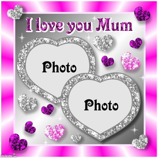 I Love You Mom Picture Frames | Allofthepicts.com