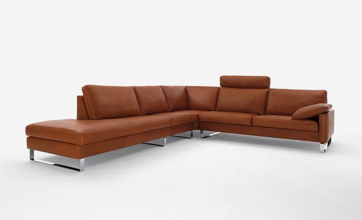 Die besten 17 Ideen zu Ecksofa Leder auf Pinterest  Couch  -> Sofa Ecksofa Moroni Leder Toro Tobacco