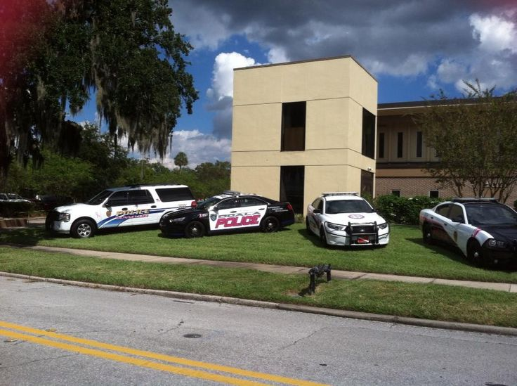 Marion County, FL Law Enforcement Agencies Breast Cancer Awareness patrol vehicles