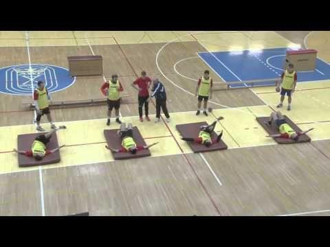 Core training by Paul Landure/FRA - YouTube