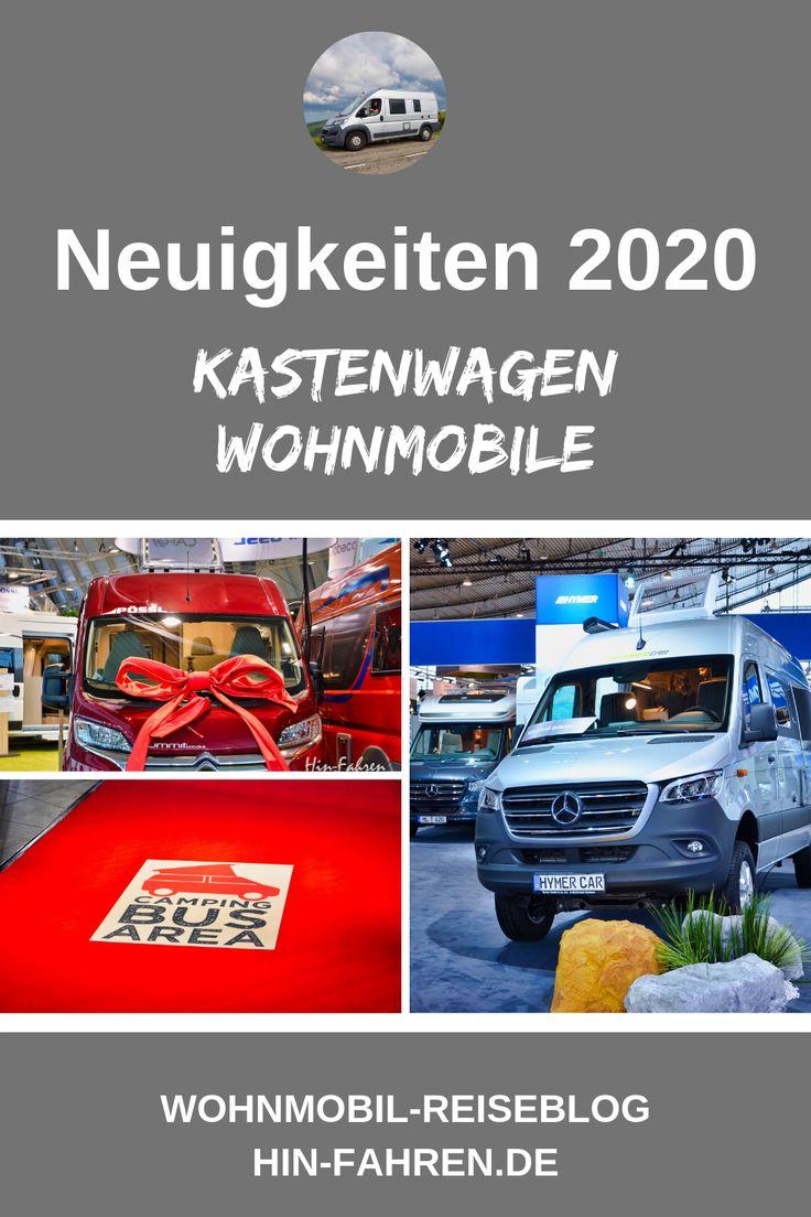 Neue Modelle & Motoren - Kastenwagen 2020 - Hin-Fahren Wohnmobil-Reisen & Camper-Tipps