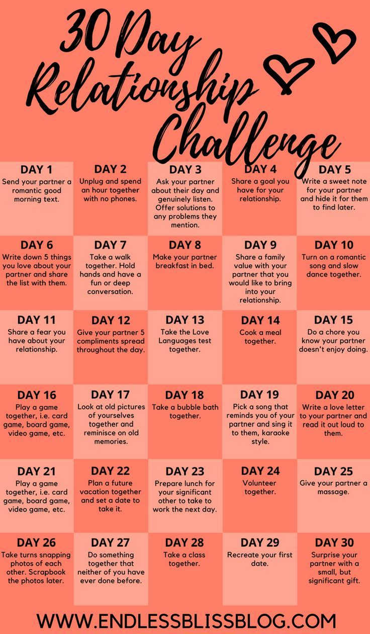 30 Day Relationship Challenge – #challenge #Day #r…