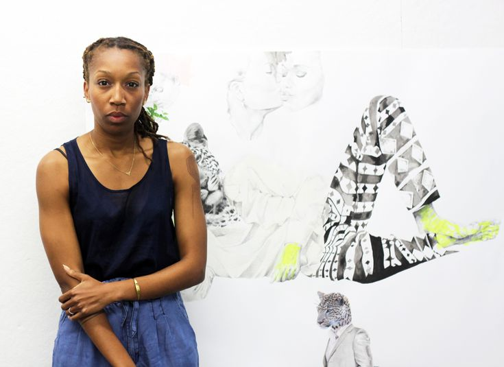 Ruby Onyinyechi Amanze photographed in her workspace on June 29.KATHERINE MCMAHON