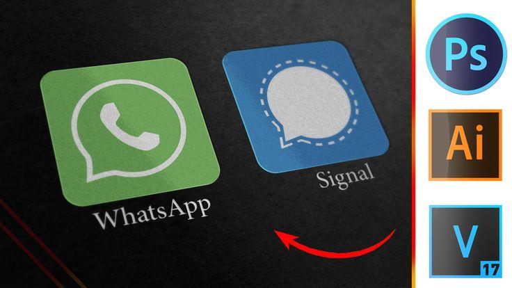 Easy Whatsapp Signal Logo Design Using Adobe Illustrator Cc 2020 كيف تصمم شعار واتساب وسيجنال In 2021 Youtube Drawing Logo Design Gaming Logos