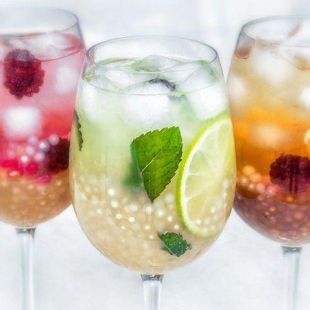 Bubble tea com sagu